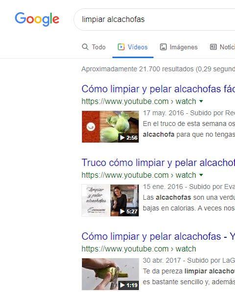 buscar google videos