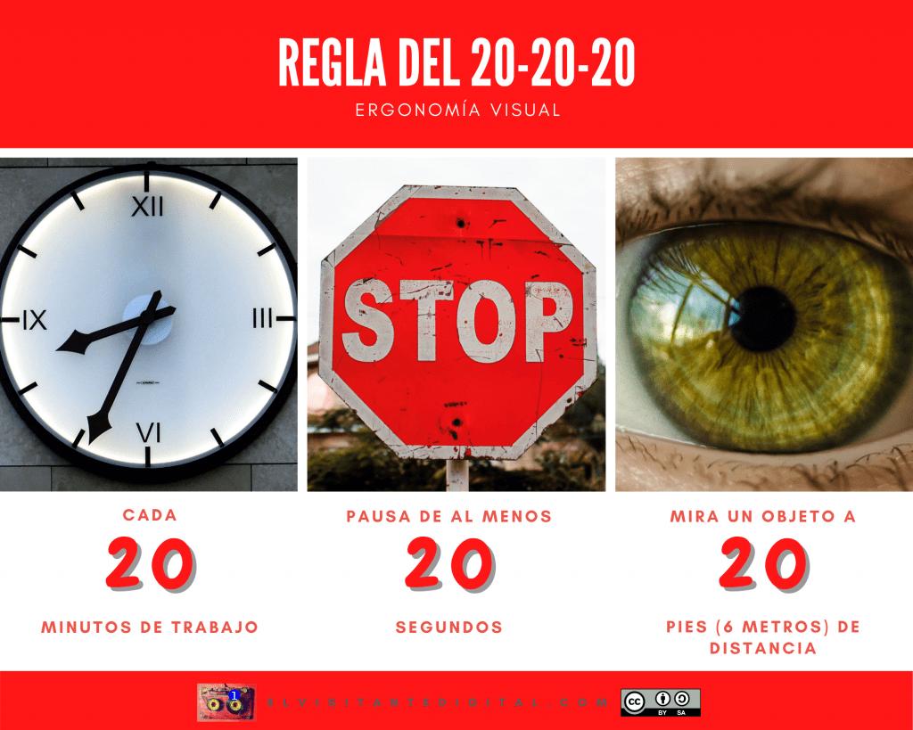 regla del 20-20-20