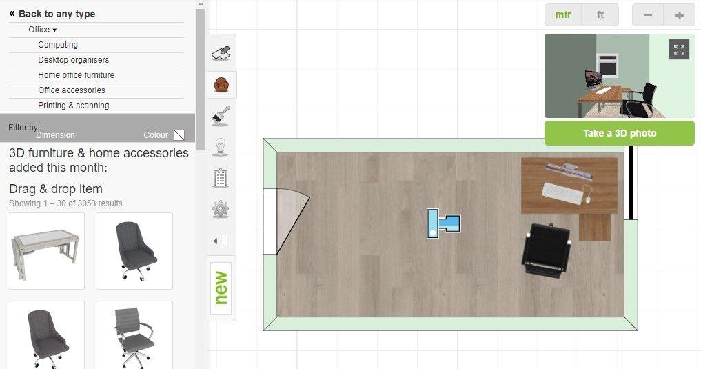 Distribuir el espacio disponible para tu oficina en casa